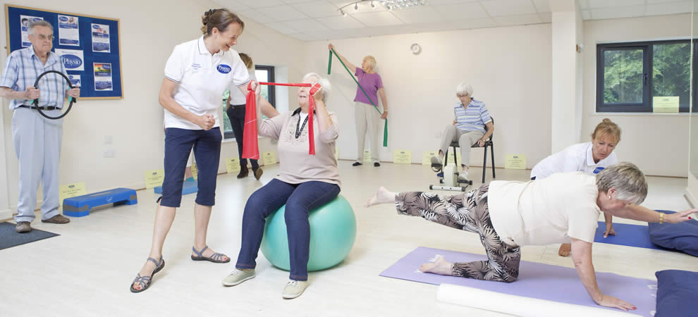 Pilates Classes led by Chartered Physiotherapists