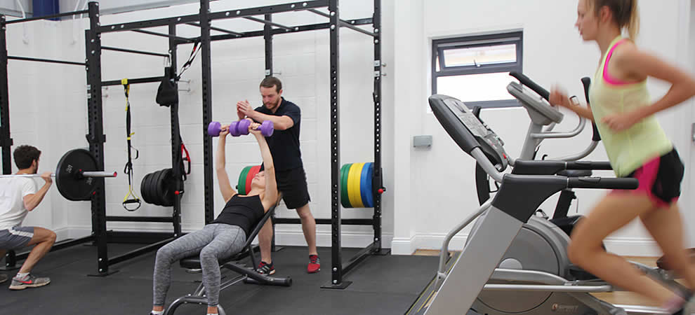 Health and Rehab Gym with fully qualified personal trainer