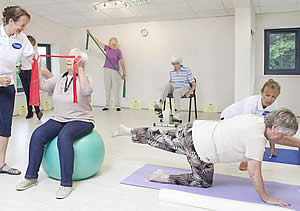 Health and Rehab Gymn